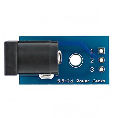 Dc005 para mergulhar placa de adaptador dc jack tomada placa de alimentação placa módulo
