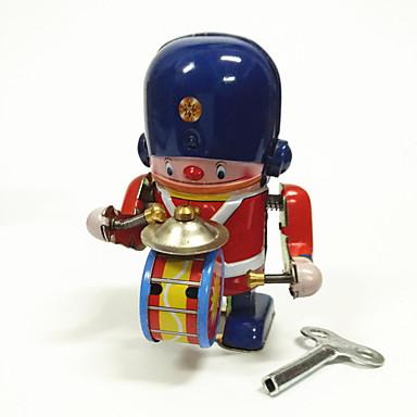 Robô Brinquedos de Corda Brinquedos Máquina Robô Bateria Ferro Metal Vintage 1 Peças Crianças Dom