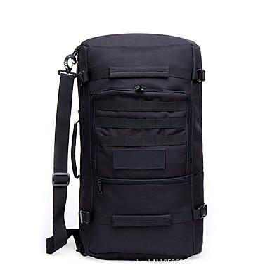 50 L mochila Acampar e Caminhar Esportes Relaxantes Viajar Prova-de-Água Vestível Resistente ao Choque Multifuncional