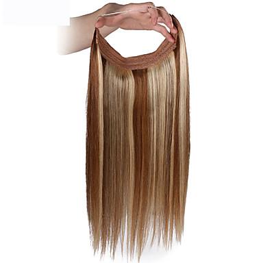 Flip In Human Hair Extensions Jó minőség Klasszikus Női Napi