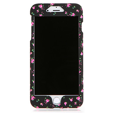 Capinha Para Apple iPhone 7 Plus iPhone 7 Estampada Capa Proteção Completa Flor Rígida PC para iPhone 7 Plus iPhone 7 iPhone 6s Plus