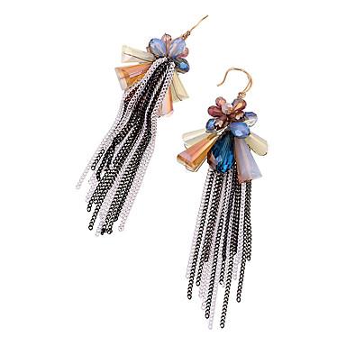 저렴한 패션 귀걸이-여성용 크리스탈 개인화 술 Euramerican 귀걸이 보석류 무지개 제품 결혼식 파티 치하