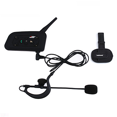 100% Vero Vnetphone 1200 M Impermeabile Casco Moto Interphone Full Duplex Bluetooth Intercom Cuffie V6c Con Bracciale Arbitro Intercom Comunication Cuffie #05518059