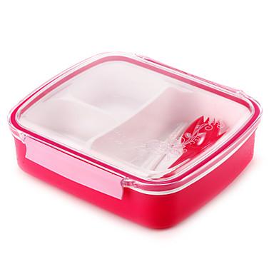 1 Køkken Plastik Madpakkebokse