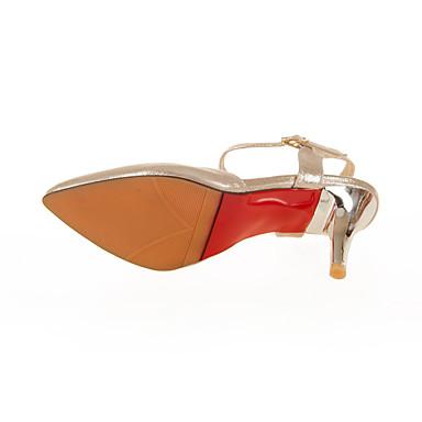 Cheville Sandales Personnalisées Talon Confort Automne Bout 05783064 de Boucle Chaussures Femme Aiguille Marche Bride pointu Matières Eté zA8EqE