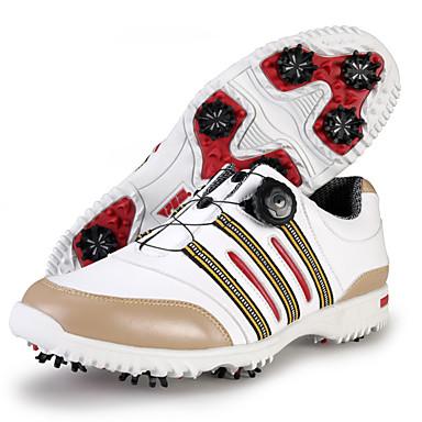 PGM Sapatos para Golf Sapatos Casuais Homens Anti-Escorregar Anti-Shake Almofadado Prova-de-Água Respirável Anti-desgaste Ajustável