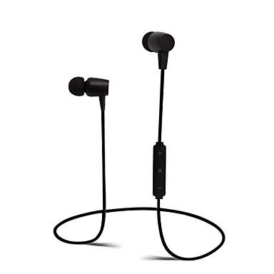 في الاذن لاسلكي Headphones بلاستيك الرياضة واللياقة البدنية سماعة مع التحكم في مستوى الصوت / مع ميكريفون سماعة