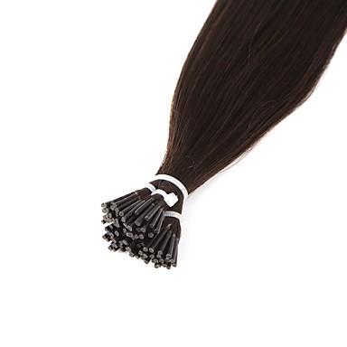 Neitsi 8a stupeň 28 '' 25g / dávka 1g / s i tip rozšíření vlasů 100% rovný remy lidské vlasy 2 #