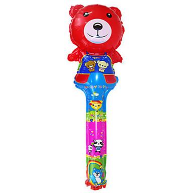 Balões Brinquedos Forma Cilindrica Inflável Festa Alumínio Unisexo Crianças Dom