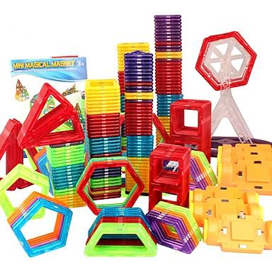 בלוק מגנטי אריחים מגנטיים אבני בניין 98 pcs מכונית רובוט גלגל ענק תואם Legoing מגנטי בנים בנות צעצועים מתנות