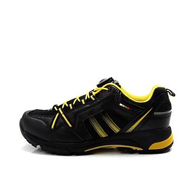 رخيصةأون أحذية ركوب الدراجة-Tiebao® أحذية الدراجة متنفس ركوب الدراجة البرتقال / اسود رجالي أحذية الدراجة
