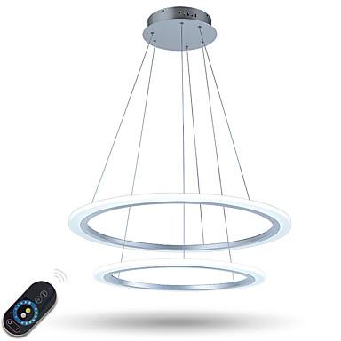 Luzes Pingente Luz Ambiente - Regulável LED Dimmable Com Controle Remoto, Rústico / Campestre Regional Tradicional / Clássico Moderno /