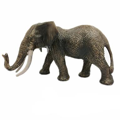 Brinquedos & Bonecos de Ação Brinquedos de Montar Brinquedos Elefante Plástico Para Meninas Para Meninos Peças