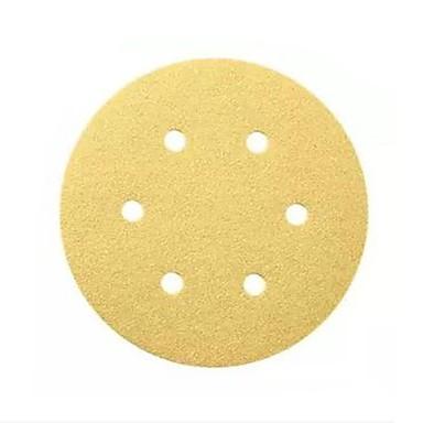 Bosch Sand Schüssel 150mm p40-6 Loch zurück Stapel Sand Scheibe Sand Papier / 10 Stück