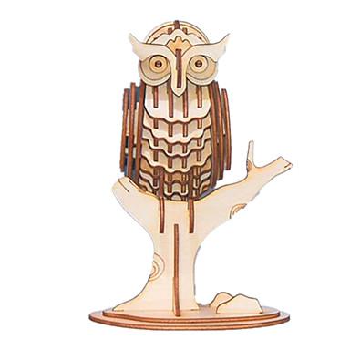 3D puzzle Dřevěný model Modele Zvíře Zábava Dřevo Klasické