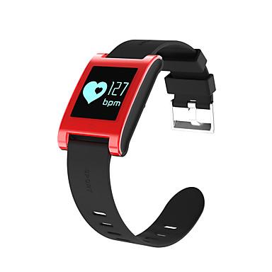 Pulseira inteligente Tela de toque Monitor de Batimento Cardíaco Impermeável Calorias Queimadas Pedômetros Distancia de Rastreamento
