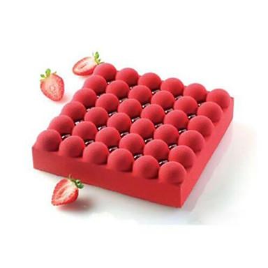 Ferramentas bakeware Silicone Anti-Aderente / 3D / Natal Bolo / Chocolate Molde 1pç
