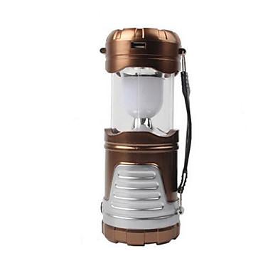 billige Lommelykter & campinglykter-Lanterner & Telt Lamper 850 lm LED LED 6 emittere 1 lys tilstand Vanntett Oppladbar Nødsituasjon Camping / Vandring / Grotte Udforskning Dagligdags Brug Sykling Svart kaffe