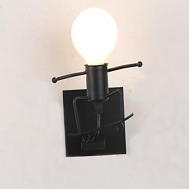 Rústico / Campestre / Inovador / Tradicional / Clássico Luminárias de parede Metal Luz de parede 110-120V / 220-240V 40W