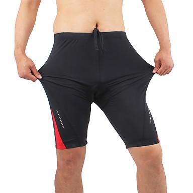 Shorts para Ciclismo Homens Moto Shorts Acolchoados Meia-calça Shorts Inverno Roupa de Ciclismo Respirável Confortável Retalhos Ciclismo