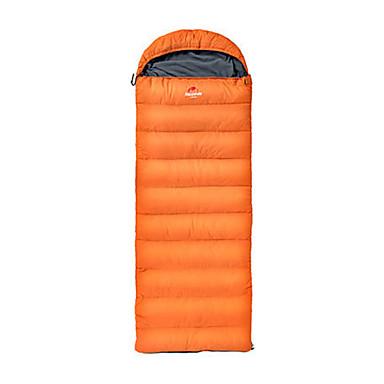 Naturehike Saco de dormir Retangular Penas de Pato 5°C Manter Quente Portátil Ultra Leve (UL) Grossa 210 Campismo Exterior Naturehike