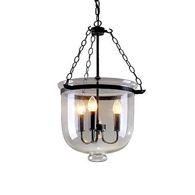 QINGMING® Luzes Pingente Luz Superior - Designers, Rústico / Campestre Tradicional / Clássico Retro, 110-120V 220-240V Lâmpada Não