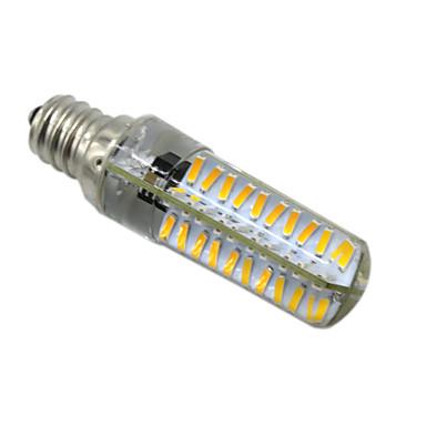 HKV 5W 400-500 lm E14 BA15d E17 E12 Luminárias de LED  Duplo-Pin T 80 leds SMD 4014 Regulável Branco Quente Branco Frio AC 220-240V
