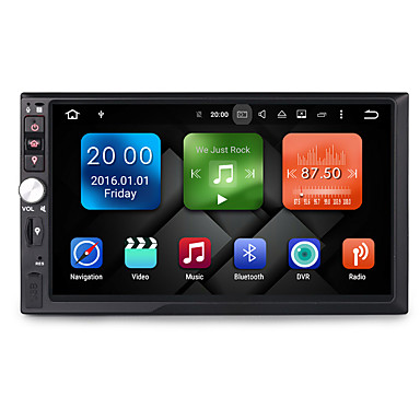 7 inch 2 DIN 1024 x 600 Android6.0 Car DVD Player for Universal ...