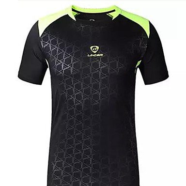 Homens Camiseta de Corrida Manga Curta Prova-de-Água Secagem Rápida Resistente Raios Ultravioleta Respirável Confortável Camiseta Pulôver