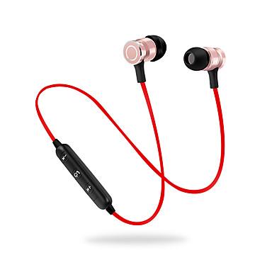CIRCE S7 Sem Fio Fones Dinâmico Aluminum Alloy Esporte e Fitness Fone de ouvido Atração de ímã Com controle de volume Com Microfone Fone