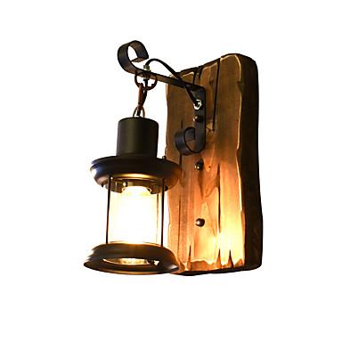 Rústico / Campestre / Tradicional / Clássico Arandelas LED Madeira / Bambu Luz de parede 110-120V / 220-240V 4 W / E27