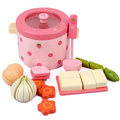 Comida de Brinquedo / Brinquedos de Faz de Conta De madeira Crianças Dom 1pcs