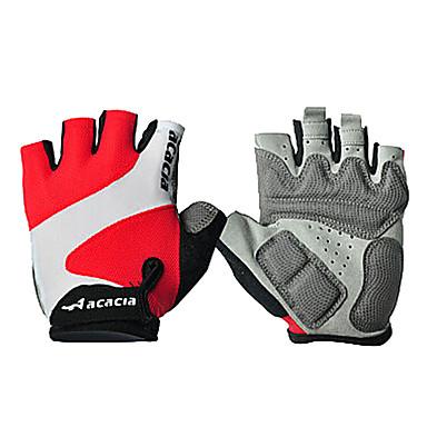 Acacia Rękawiczki sportowe Rękawiczki rowerowe Zdatny do noszenia Oddychający Wearproof Redukuje odparzenia Bez palców Poliester Bawełna