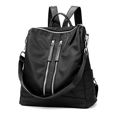 Mulheres Bolsas Tecido Oxford mochila para Ao ar livre / Acampar e Caminhar Preto