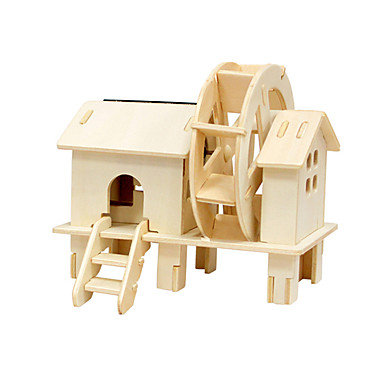 3D - Puzzle Spielzeuge Windmühle Holz Unisex Stücke