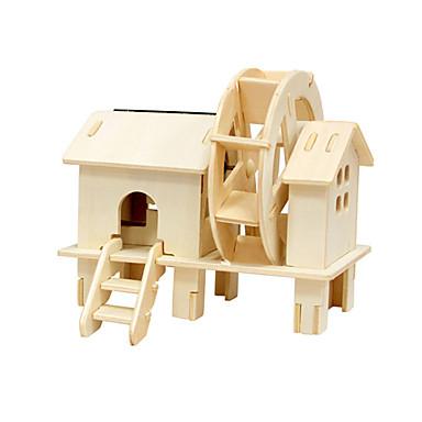 3D puzzle Hračky Větrný mlýn Dřevo Unisex Pieces