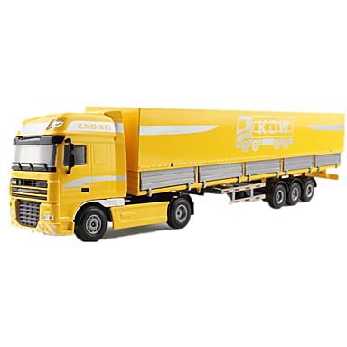 KDW Caminhão de carga Caminhões & Veículos de Construção Civil Carros de Brinquedo Carrinhos de Fricção 01:32 Metalic Para Meninos