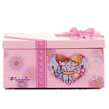 Caixa de música Quadrada Presente Adulto Infantil Dom Para Meninas Unisexo