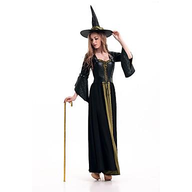 Cosplay Kostýmy Čaroděj/Čerodějnice Festival/Svátek Halloweenské kostýmy Ostatní Šaty Klobouky Tanga Halloween Dámské Spandex Terylen