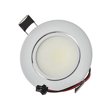 9W 820lm 2G11 Downlight de LED Encaixe Embutido 1 Contas LED COB Decorativa Branco Quente / Branco Frio 85-265V