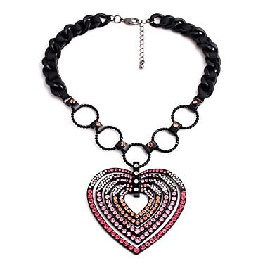 للمرأة قلائد الحلي - قلب مخصص, تصميم فريد زهري قلادة مجوهرات من أجل هدية, الأماكن المفتوحة