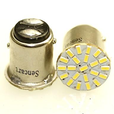 SENCART 1156 BAY15D(1176) BA15D(1142) BA15S(1156) Auto Motorka Žárovky 1-2W W SMD 3014 120-180lm lm Zadní světlo