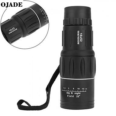 voordelige Microscopen & Endoscopen-dag& Nachtzicht 16x52 hd optische monoculaire jacht camping wandeltelescoop