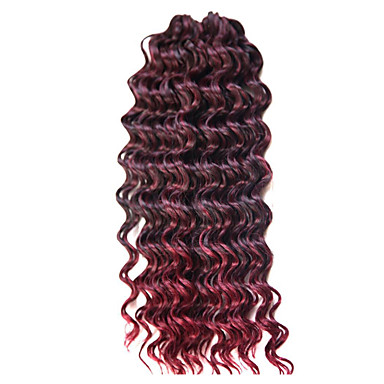 Deep Twist Clássico Alta qualidade Extensões de Cabelo Natural Tranças de cabelo Diário
