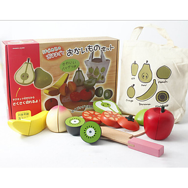 Comida de Brinquedo Brinquedos de Faz de Conta Brinquedos Magnética Madeira Crianças Dom 1pcs