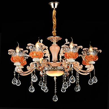 Kristall Ministil Pendelleuchten Deckenfluter Für Esszimmer Drinnen Korridor 110-120V 220-240V Glühbirne nicht inklusive