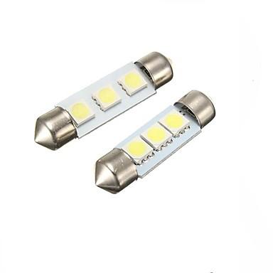 Festoon Auto Žárovky 2W W SMD 5050 60lm lm interiérových svítidel