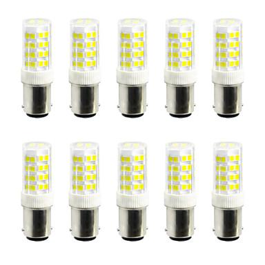 10pçs 5W 360-450 lm Luminárias de LED  Duplo-Pin 52 leds SMD 2835 Branco Quente Branco Frio AC 85-265V