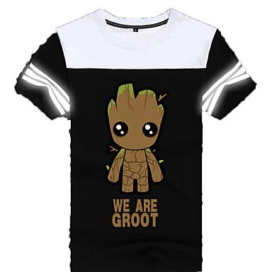 Cosplay Kostüme Zeichentrick - Kapuzenpullover & Pullover Superheld Monster Film/Fernsehen Thema Kostüme Film Cosplay T-shirt Halloween