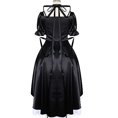 Ternos de Cosplay Vestidos Peça para Cabeça Mais Acessórios Inspirado por Fantasias Fantasias Anime Acessórios para Cosplay Vestido Meias